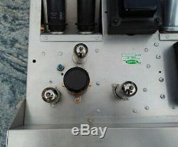 HH Scott 99D 99-D Tube Mono Integrated Amplifier Restored by Mapleshade Audio