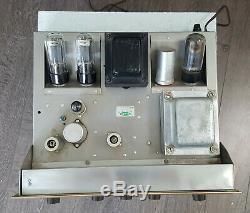 HH Scott 99-D Tube Mono Integrated Amplifier