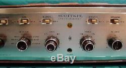 HH Scott LK-72 Late Essentially An LK-72B Stereo Tube Amplifier Working
