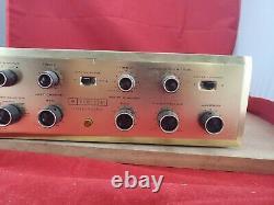 HH Scott LK-72 Stereomaster Integrated Stereo Amplifier 7591 Tube amp