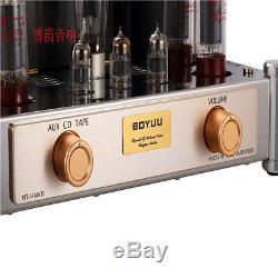 HIFI EL34 Push-Pull tube amplifier Vintage Integrated AMP 2×35W