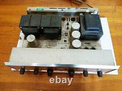 H. H. Scott 299D Tube Stereo Integrated Amplifier, Massive Transformers