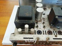 H. H. Scott 299-D Tube Stereo Integrated Amplifier, Massive Transformers