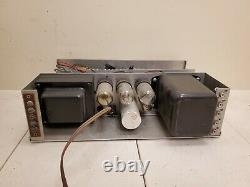 H H Scott 99A 99-A Tube Transcription Mono Integrated Amplifier Passes Signal