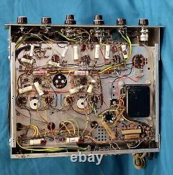 H. H. Scott LK-48 Integrated Stereo Tube Amplifier Working Condition Read Below