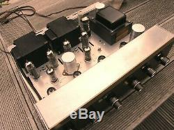 H. H Scott LK-48 Tube retro Stereo Integrated Amplifier, Vollverstärker, Top, Rar