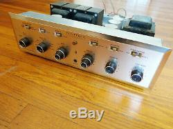 H. H. Scott LK-72 Tube Integrated Amplifier with Phono (299b)- Works, Needs Tubes