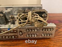 H. H. Scott Stereomaster 222-D Stereo Tube Integrated Amplifier Amp Restored
