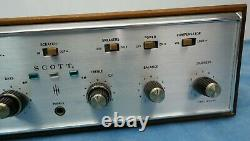 H. H. Scott Stereomaster 299-D Vacuum Tube Integrated Amplifier Nice