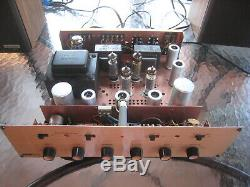 Harman Kardon A224 integrated tube amplifier, refurbed to original, nice amp