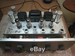 Harman Kardon A300 integrated tube amplifier, refurbed to original, 15WPC 6V6