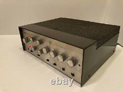 Harman Kardon A500 Vintage Integrated Tube Stereo Amplifier (Fully Functional)
