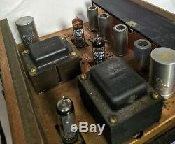 Harman Kardon Ax20 Nocturnes Vacuum Tube Integrated Amp Amplifier, Untested