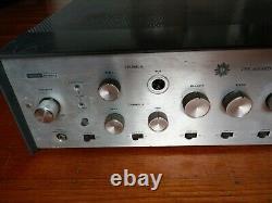 Harmon Kardon A500 Tube Stereo Integrated Amplifier, Phono, Huge Transformers