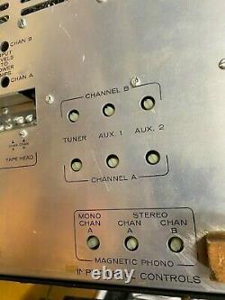 Heathkit AA-50 Stereo Tube Integrated Amp Needs Tubes