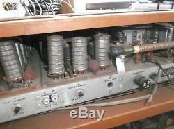 Heathkit AJ-32 Tube Stereo Tuner With AA-100 tube stereo integrated amplifier