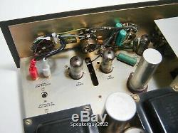 Heathkit Integrated Stereo Tube Amplifer / DA-282 / 6BQ5 12AX7 - KT1