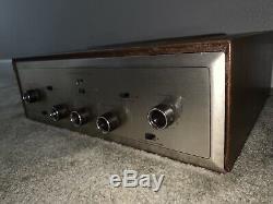 Hh Scott Scottsman 99d Vintage Tube Mono Amp Amplifier Parts Project Nice Rare