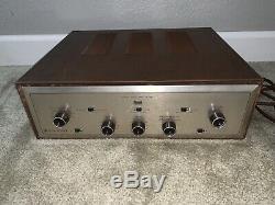 Hh Scott Scottsman 99d Vintage Tube Stereo Amp Amplifier Parts Project Nice Rare