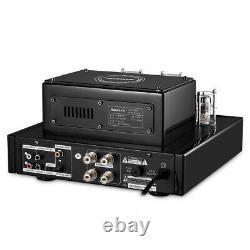 HiFi Bluetooth Vacuum Tube Power Amplifier USB/OPT/COAX Stereo Subwoofer Amp