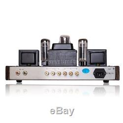 HiFi EL34 Single-ended Class A Stereo Tube Integrated Amplifier Audio Power Amp