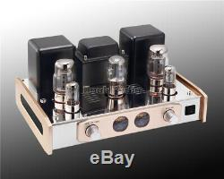 HiFi Stereo KT88 Vacuum Tube Integrated Amplifier Single-Ended Power Amp 18W2