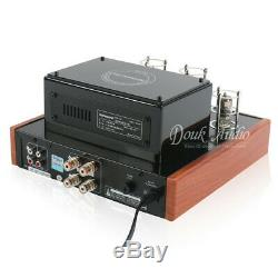 HiFi Vacuum Tube Amplifier Class AB Stereo Integrated Power Amp Headphone Output