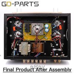Hifi DIY Kits Class A Single End EL34 Tube Integrated Amplifier Vintage Tube AMP