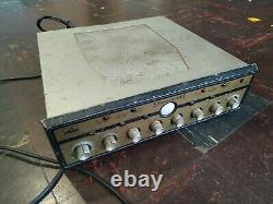 His Master's Voice HMV Model 555 Stereoscope Integrated Tube Valve Amplifier