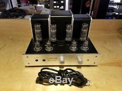Jolida JD202BRC Integrated Tube Amplifier Silver Excellent Condition
