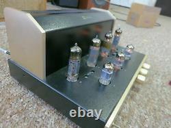 Jolida JD 102b Stereo Integrated Tube Amplifier 6BQ5 EL84 Working