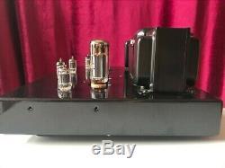 Jolida SJ 302A black integrated tube amplifier 60 watt. Sweet EL34 Sound