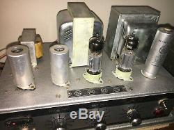 Klangfilm Era Vintage Cinema Tube Amplifiers Geloso G. 203hf Ecl82 Push-pull