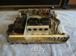 Knight 260 El34 Stereo Integrated Tube Amplifier With Massive Transformers