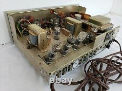 Knight Allied 935 Vintage Tube Amplifier. FOR PARTS ONLY