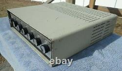 Knight Integrated 6l6 30w Tube Amplifier 83 Yz 762 Allied, Massive Transformers