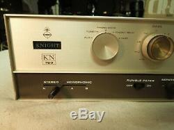 Knight Kn 760 El34 Vacuum Tube Integrated Stereo Amplifier With Phono