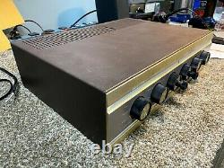 Knight integrated stereo tube amp serviced, recapped, tubed