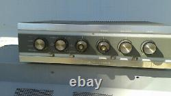 Knight integrated tube amp with6CZ5 tubes, work, good cosmetics, manual