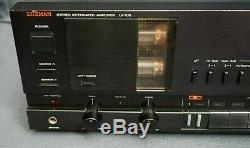 ++ LUXMAN Stereo Integrated Amplifier LV-105 with Tube Preamp Section! ++