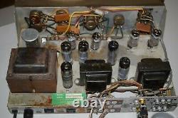 Lafayette Stereo Vintage Tube Amplifier Sounds Great 4x 6BQ5 4x 6EU7, EZ81