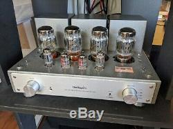 Line Magnetic LM-216IA Vacuum Tube Integrated Amplifier with Upgraded Tubes