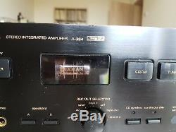Luxman A-384 tube hybrid amplifier