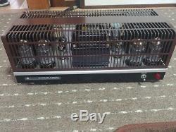 Luxman Luxkit KMQ-60 Tube valve power amp amplifier Japan Audio