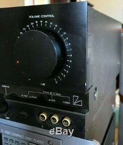 Luxman Stereo integrated amplifier LV-105 tube preamp section 220V version