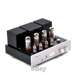 MUZISHARE X5 Vacuum Tube Amplifier HIFI Preamplifier Integrated EL34 Lamp Amp