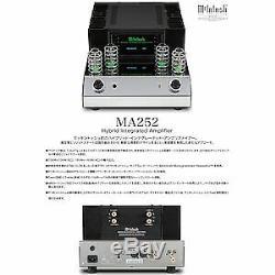 Macintosh Vacuum tube hybrid integrated amplifier McIntosh MA252