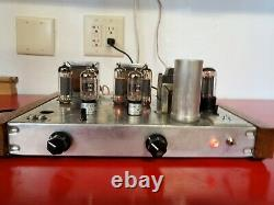 Magnavox 9302 tube amp (EL84) upgraded and improved