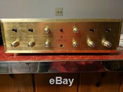 Mapleshade Modified SCOTT 222c Tube Intergrated Amplifier. Telefunken