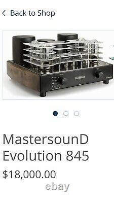 Mastersound 845 Evolution Tube Integrated Amplifier